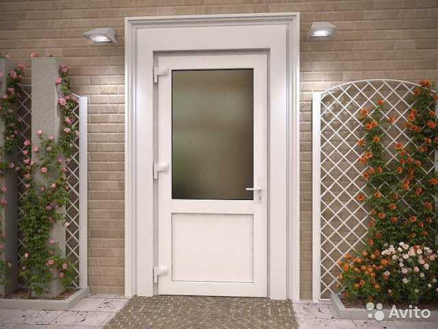 Пластиковые двери. описание конструкции и рекомендации по выбору