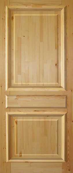 Межкомнатные двери из массива сосны, на сколько они надежные