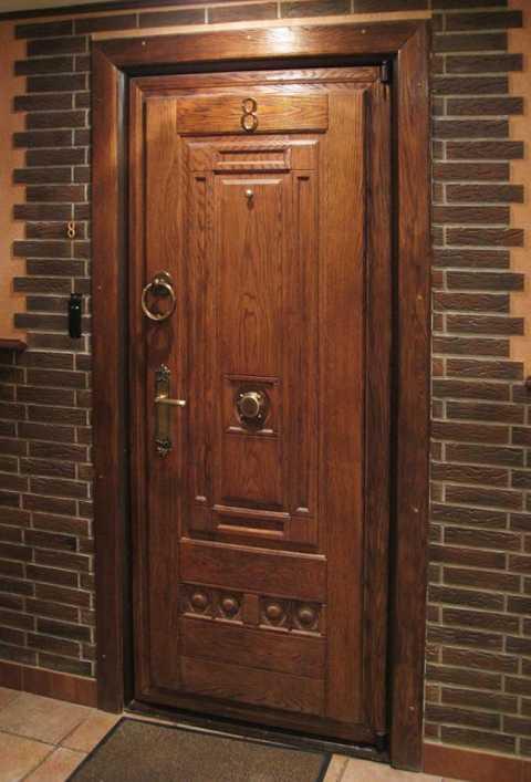 Как сделать дверь под старину своими руками
