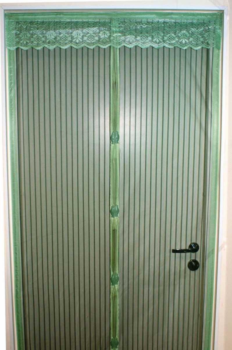 Как выбрать антимоскитную сетку на магнитах для двери?