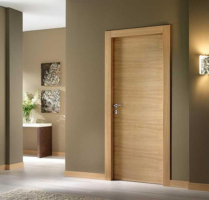 Шпонированные двери — это и современно, и долговечно (20 фото)