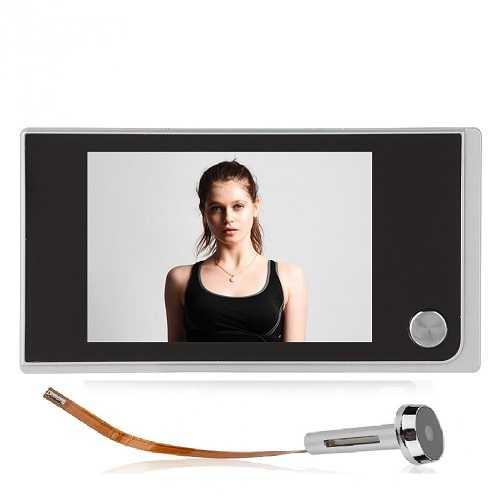 Выбираем глазок с видеокамерой — основные характеристики и популярные модели