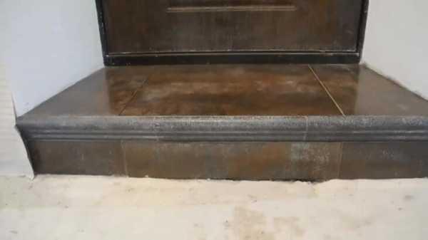Как сделать порог входной двери в квартире: 3 плюса