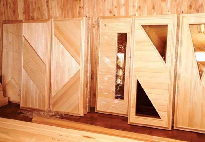 Популярные производители дверей для сауны