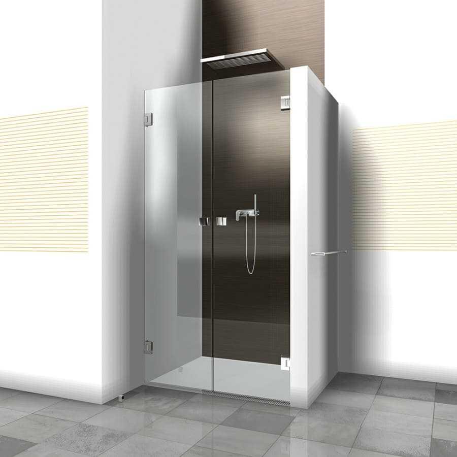 Как выбрать двери для душевой кабины