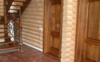 Выбор и установка межкомнатных дверей в деревянном доме