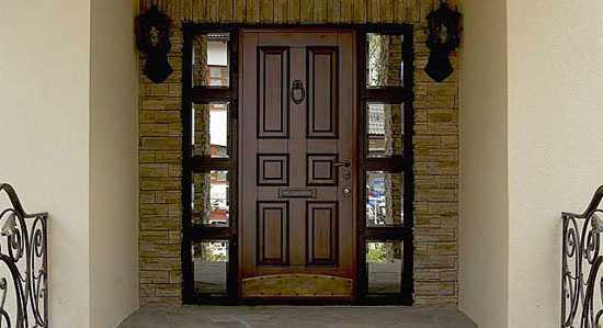 Входные двери в дом — какие выбрать? обзор лучших моделей 2020 года, примеры дизайна + 120 фото
