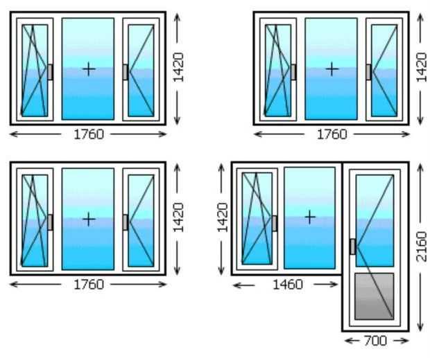 Как правильно рассчитать размеры для замены балконного блока