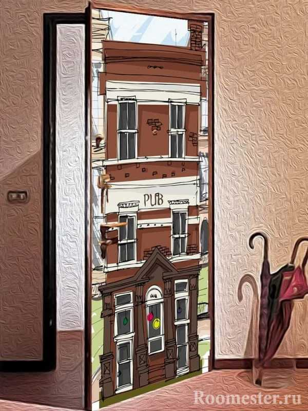 Как облагородить косяк входной двери: самые популярные решения