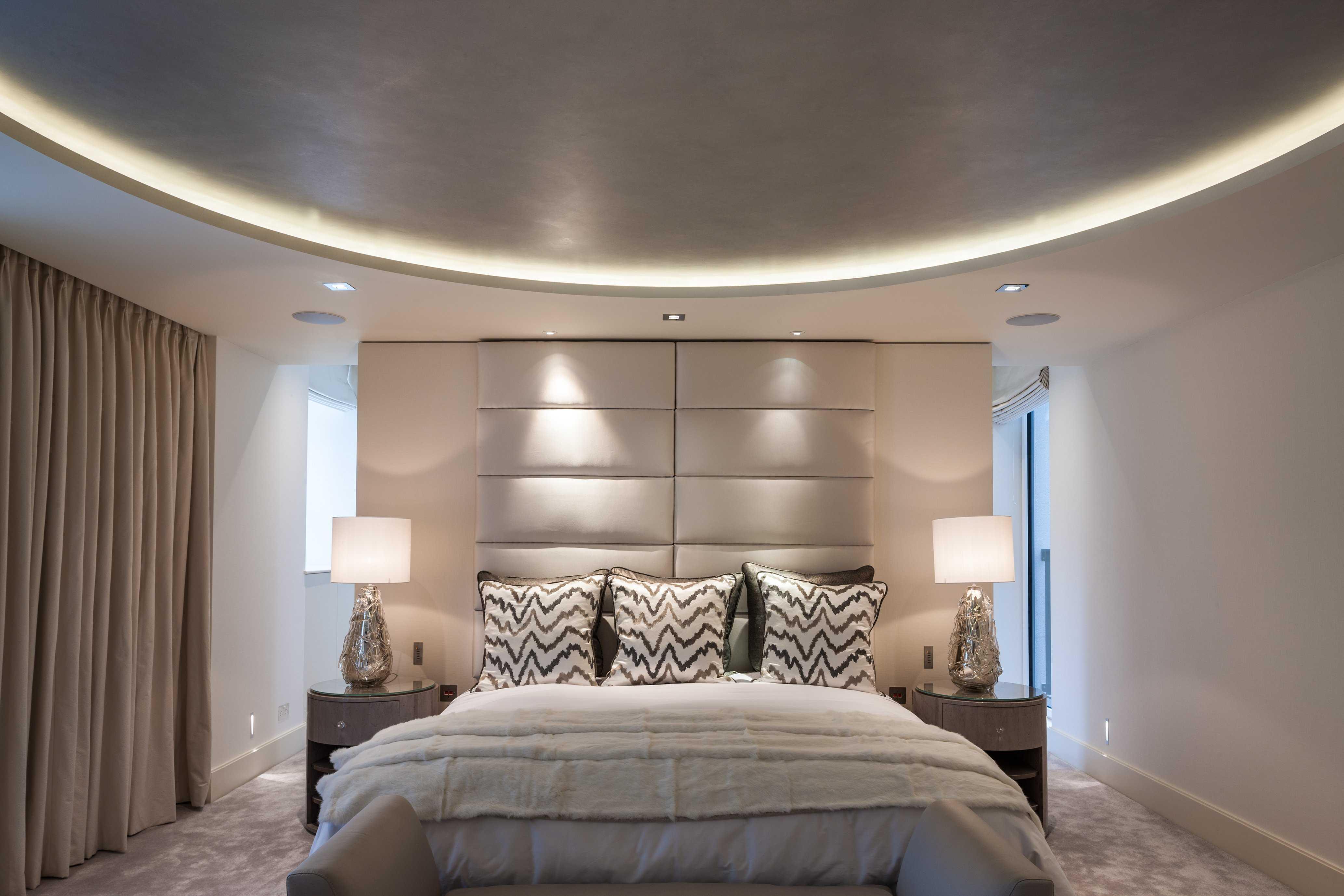 Потолки для спальни из гипсокартона (94 фото): идеи дизайна-2020 подвесных гипсокартонных конструкций, красивые потолки из гипсокартона