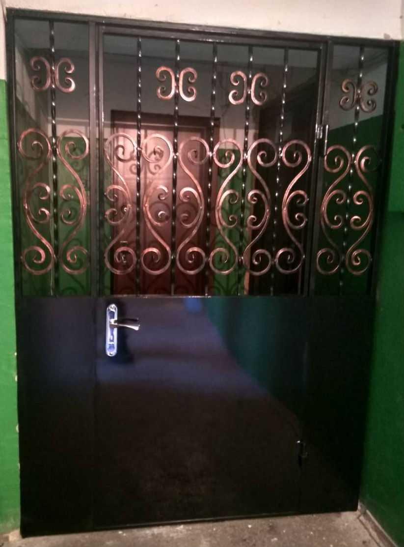 Противопожарная однопольная дверь из металла дпм 01 60 и дмп 02 60