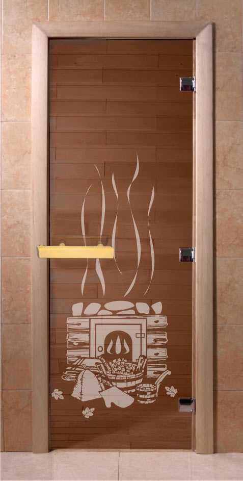 Как не ошибиться при покупке стеклянных дверей в сауну или баню