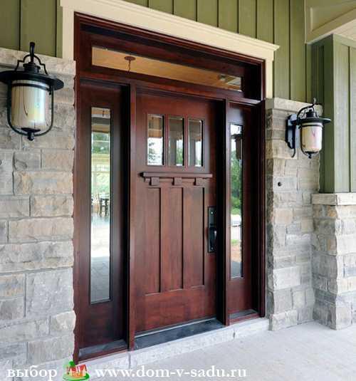4 способа изготовления деревянной двери своими руками
