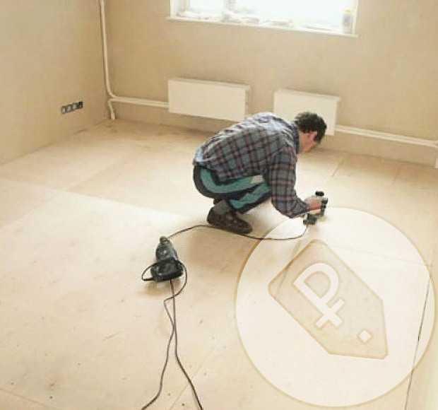 Как подготовить пол под линолеум: основание своими руками. подготовка бетонного и деревянного пола к укладке линолеума, фото и видео