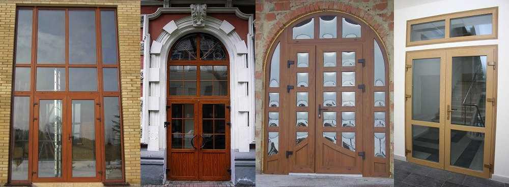 Плюсы и минусы уличных входных пластиковых дверей