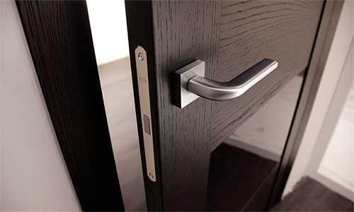 Разновидности дверных ручек для входных металлических дверей