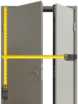 Применение металлических противопожарных дверей