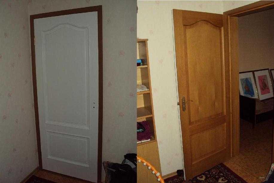 Пленка для дверей