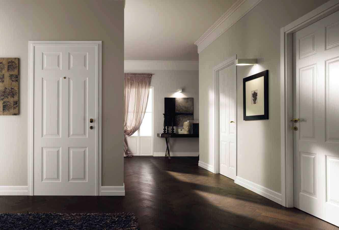 Использование светлых дверей в интерьере квартиры: реальные фото