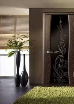 Выбираем межкомнатные двери со стеклом