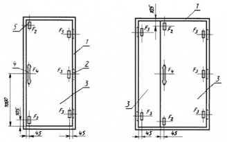 Гост 30109-94двери деревянные. методы испытаний на сопротивление взлому