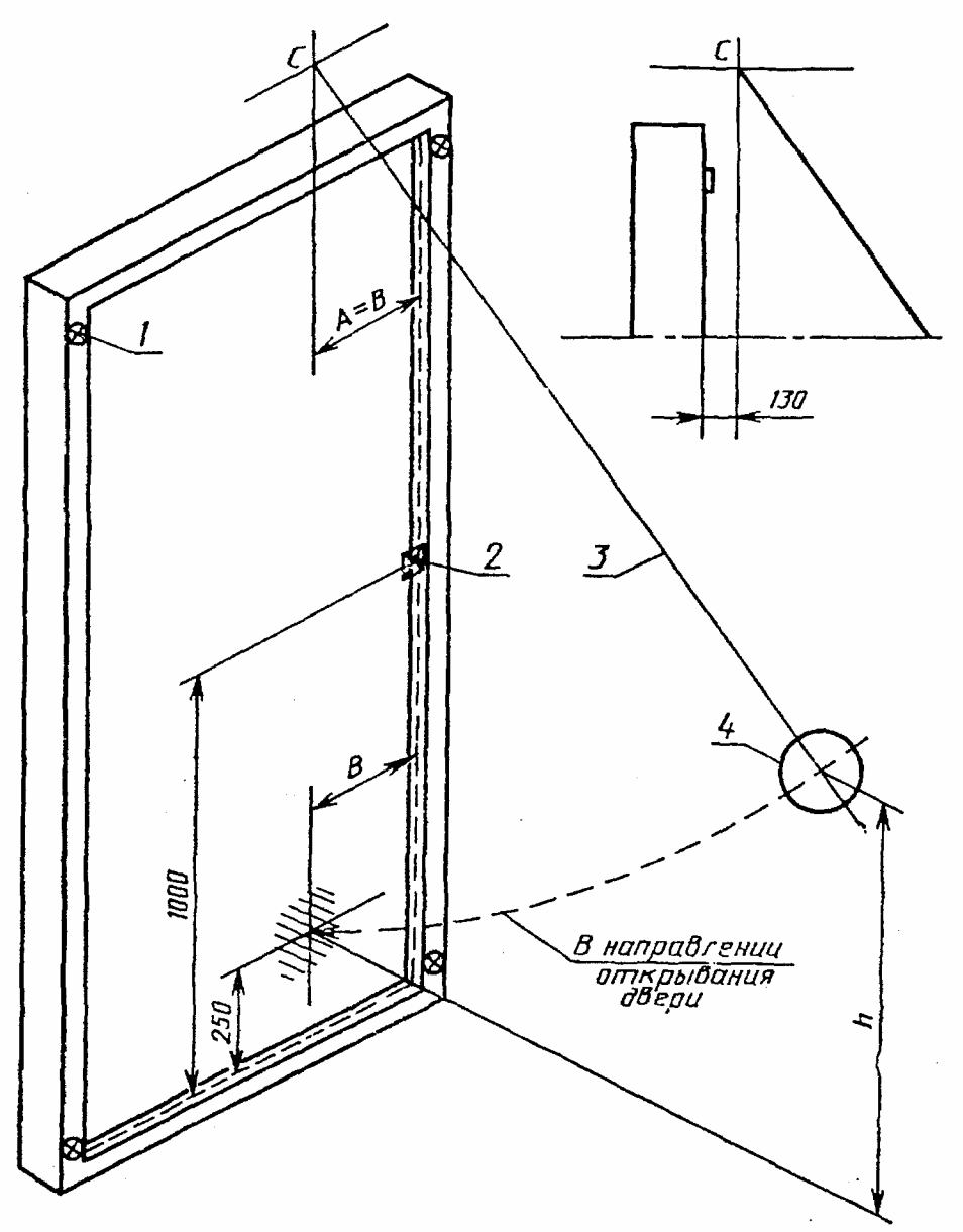 ГОСТ 26892-86 Двери деревянные. Метод испытания на сопротивление ударной нагрузке, действующей в направлении открывания.