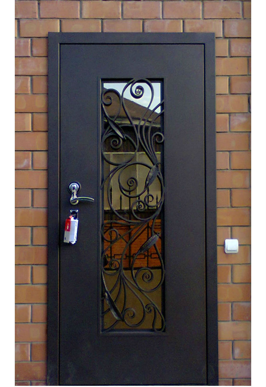 Характеристика входных стеклянных дверей для частного дома: 3 главных преимущества