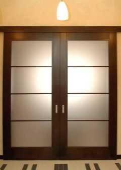 Интересные примеры раздвижных дверей для комнаты
