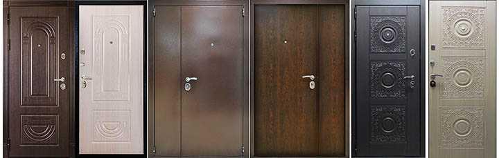 Как выбрать входную металлическую дверь в квартиру?