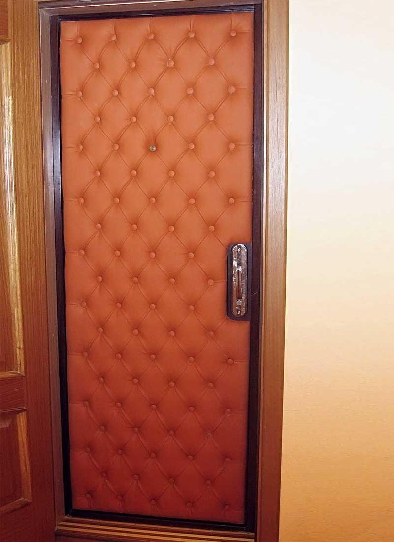 Не пропустим сквозняк в наш дом! утепление входной двери своими руками