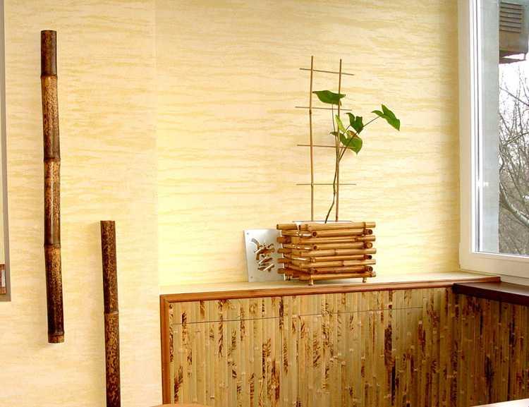 Бамбуковые обои для стен, их характеристики, виды, особенности