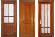 Двери из какого массива лучше?