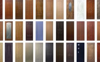 Декоративные накладки на входные и межкомнатные двери