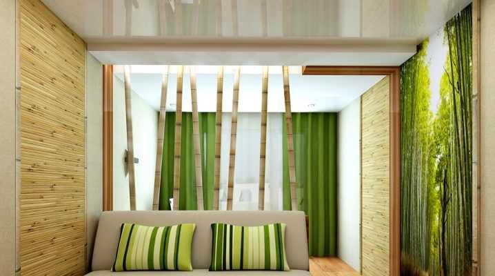 Бамбук в интерьере — варианты использования