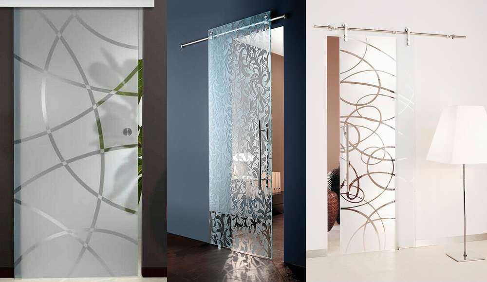 Как выбрать стеклянную дверь в баню