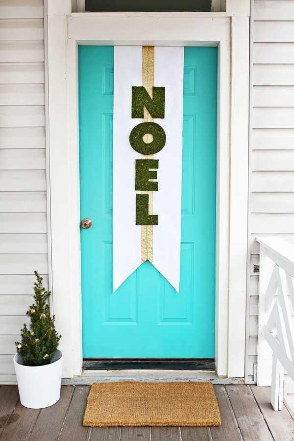 Методы декора дверей