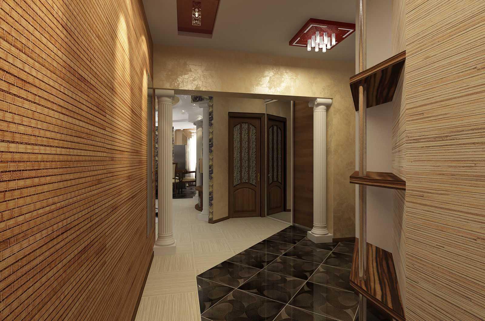 Как клеить бамбуковые обои на стену своими руками дома