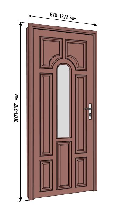 Стандартные и не очень размеры дверных проемов межкомнатных дверей