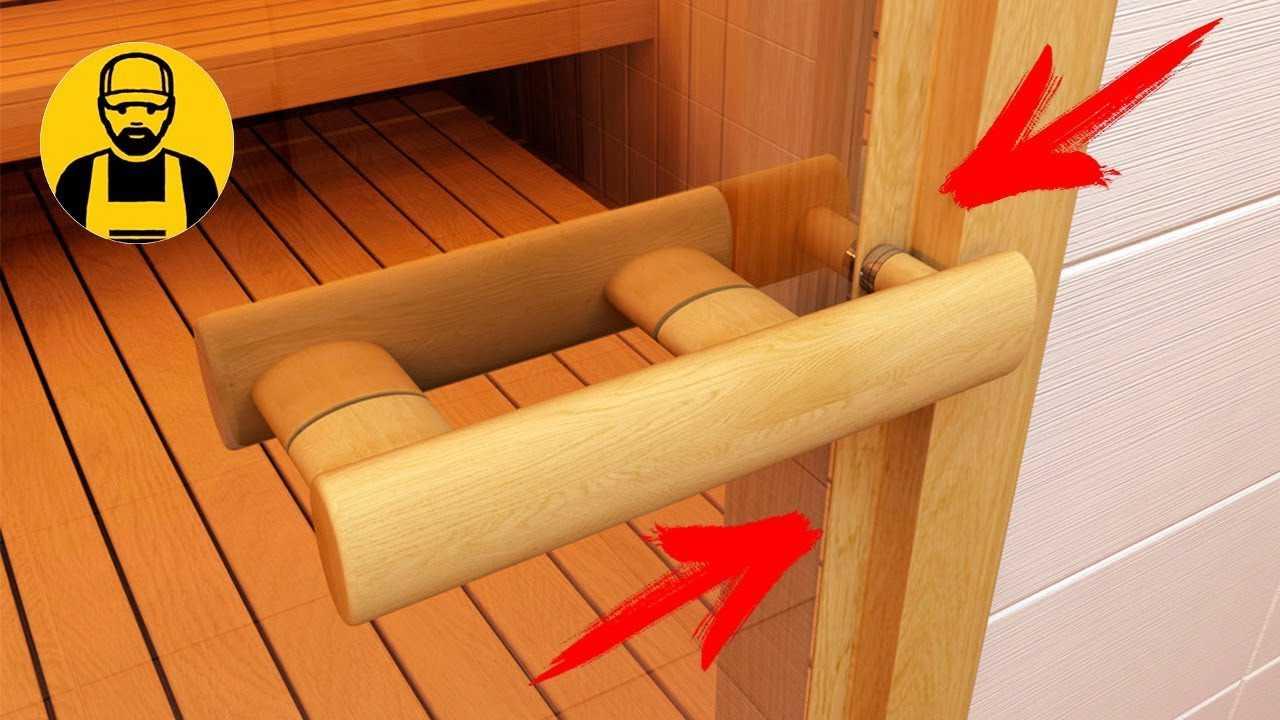 Как выбрать деревянные двери для бани – правила и нормы