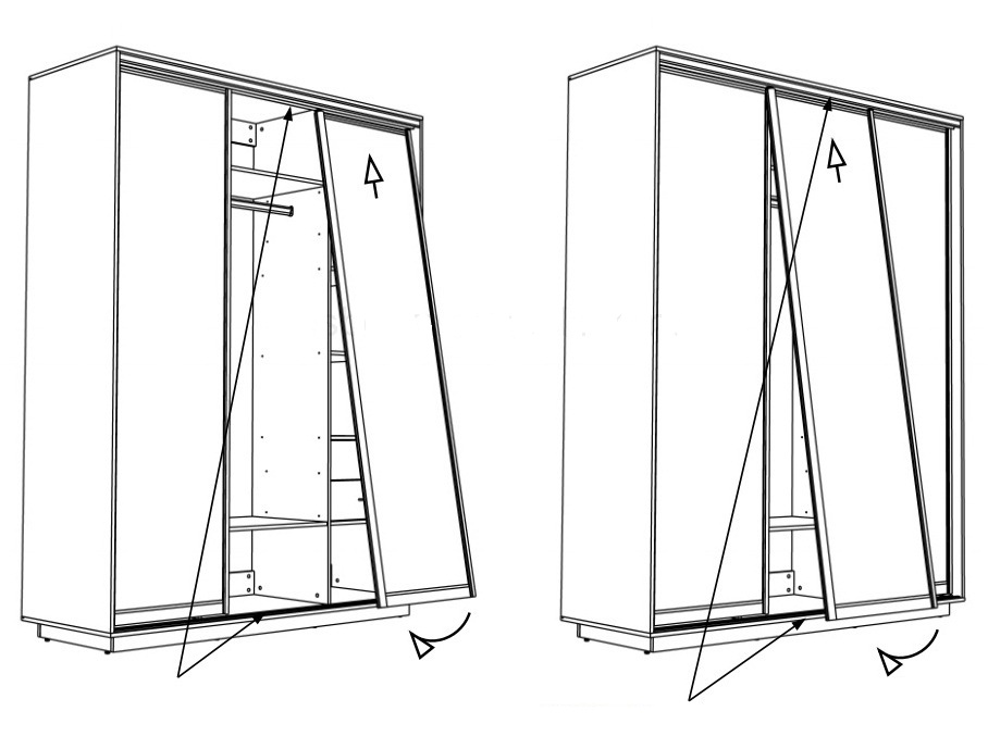 Раздвижные двери своими руками: виды раздвижных дверей и рекомендации по их установке