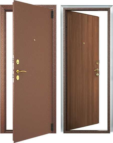 Модели входных металлических дверей эконом класса