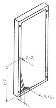 Ст сэв 4179-83 «двери деревянные. метод испытания сопротивления статической нагрузке, действующей перпендикулярно плоскости створки»