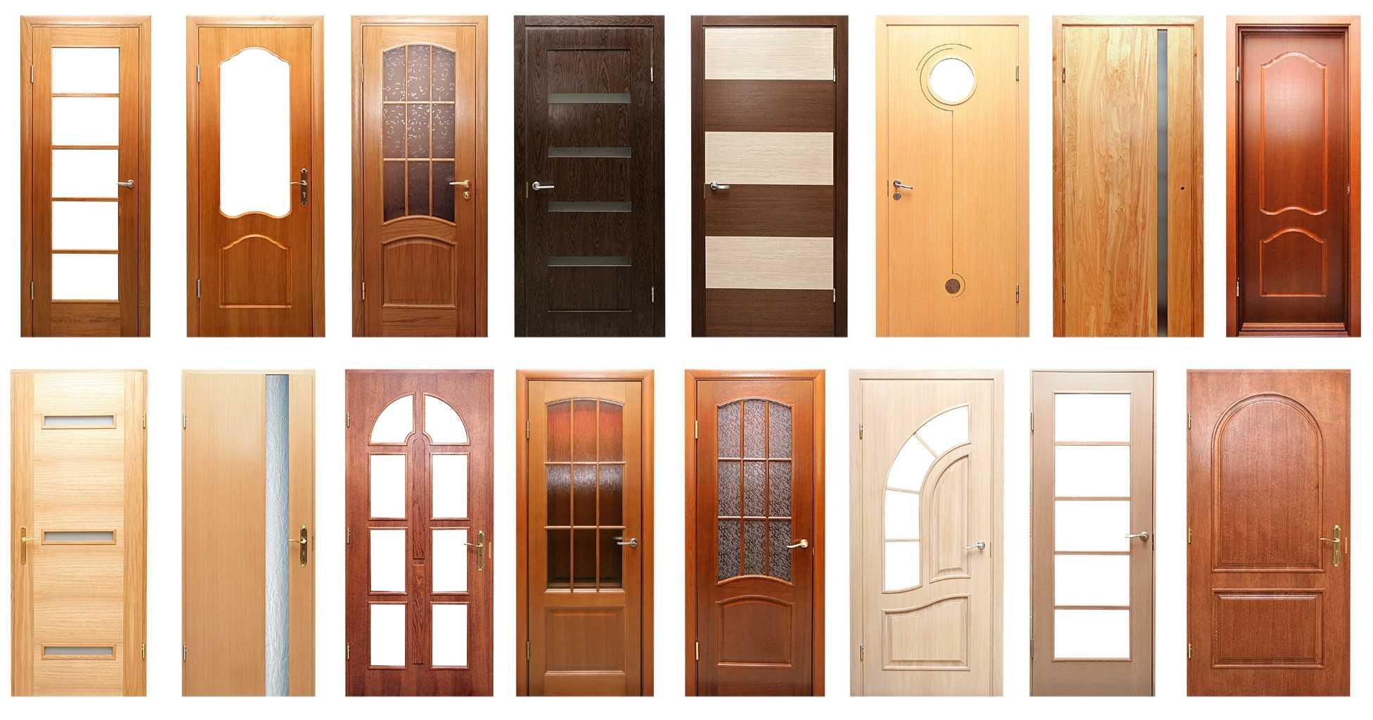 Какие межкомнатные двери лучше: из массива, шпона или экошпона