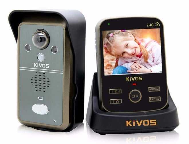 Звонок с видеокамерой на дверь квартиры