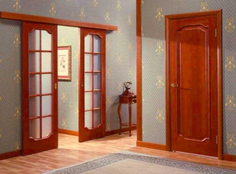 Экологичность и красота межкомнатных дверей из массива