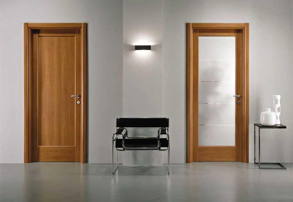 Азбука шпонированных межкомнатных дверей: от самых простых до элитных