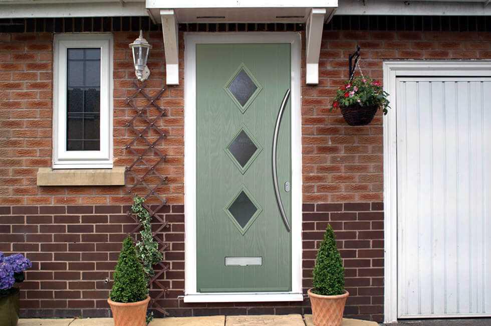 Входные пластиковые двери для частного дома - 145+ (фото) идей