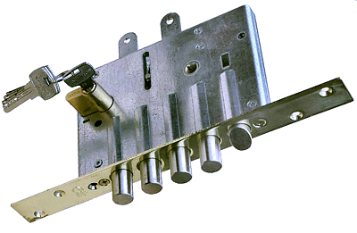 Подбор замка для китайской металлической двери
