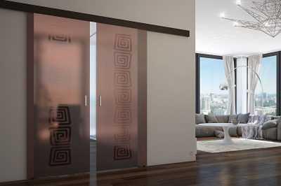 Стеклянная матовая и рифленая дверь: особенности. как установить межкомнатную конструкцию своими руками