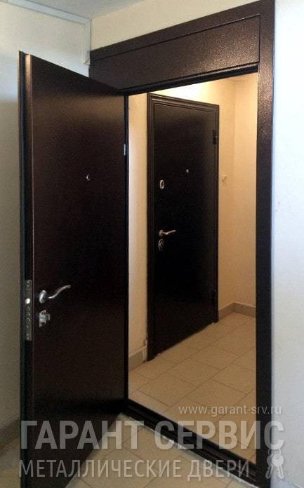 Законность установки тамбурной двери